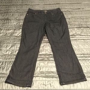 Ann Taylor cropped jeans size 8 short nwot